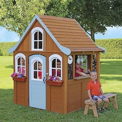 New Used Wooden Playhouse For Sale 60 Ads In Us Lowest Prices Play Houses Playhouses For Sale Backyard For Kids