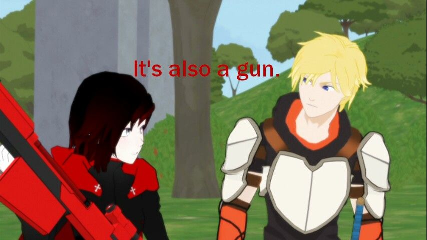 Jaune being a fool from the beginning.