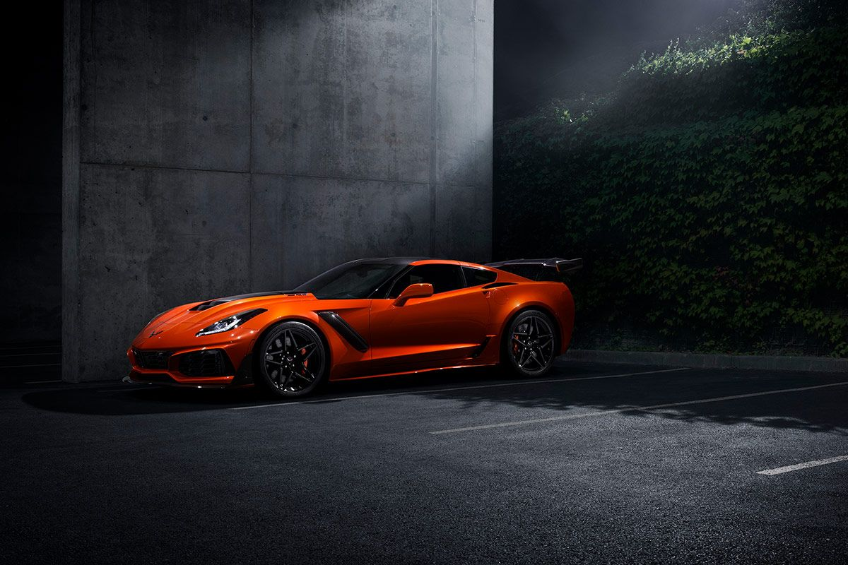 Here s an Early Look at the 2019 Chevrolet Corvette ZR1
