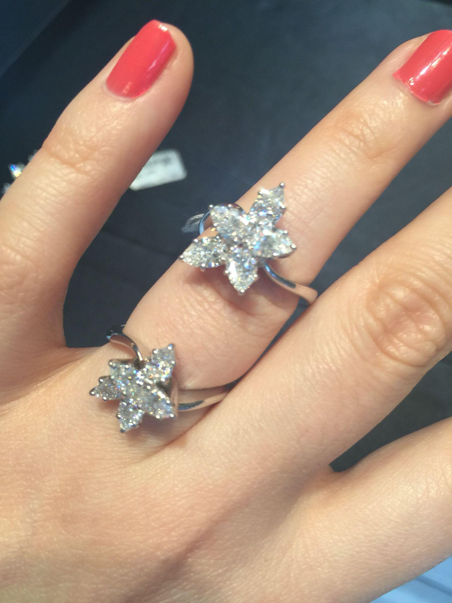 Harry Winston Cluster Ring