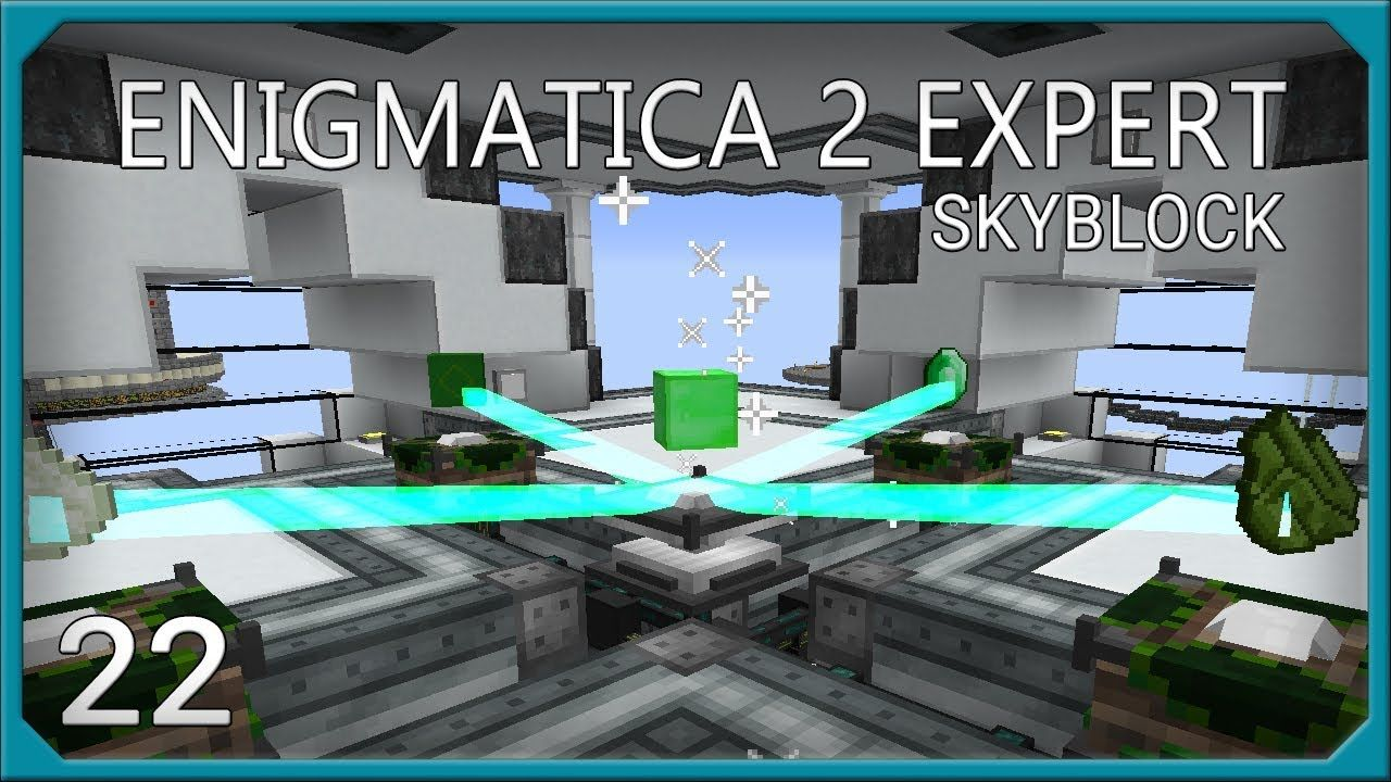 Enigmatica 2 Expert EP22 Empowerer Automation | SystemCollapse | Gym