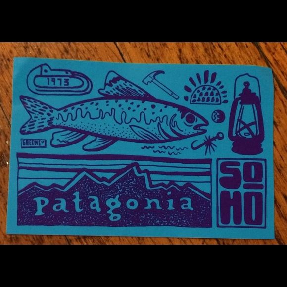 Patagonia SoHo (NYC) sticker Great for decorating phone or
