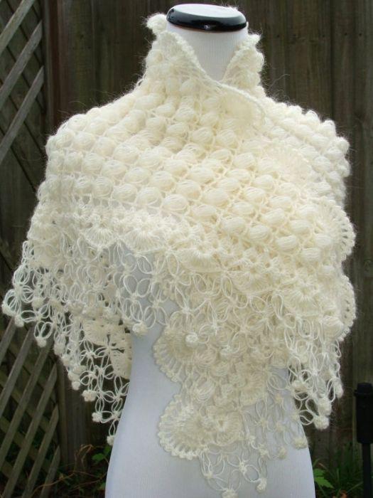 Crochet aerial shawl .. Charla en LiveInternet - Diaries en línea ...