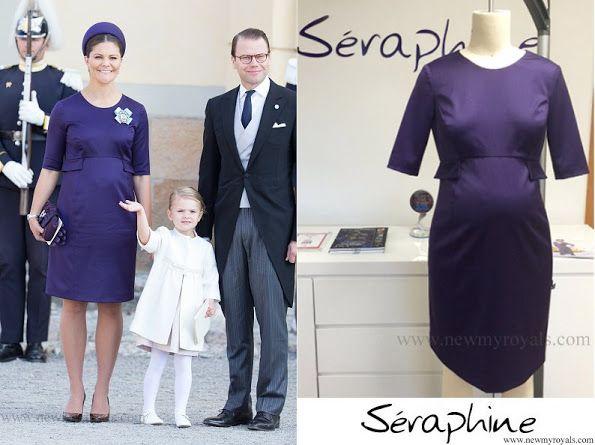 1131268e29 Crown Princess Victoria Wore Bespoke Seraphine Maternity Dress