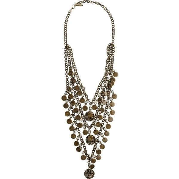 Ettika Coin And Opal Layered Statement Necklace 55