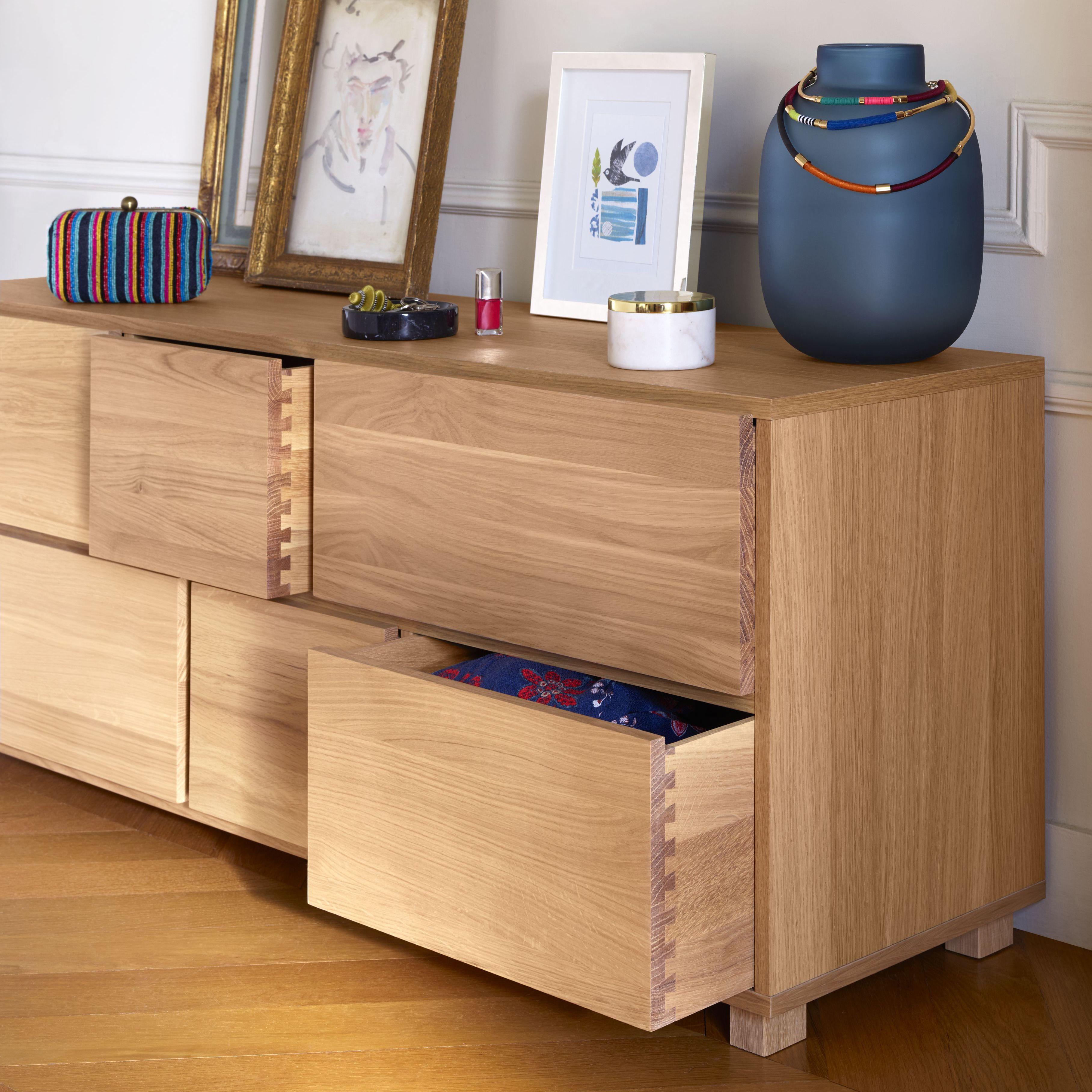 La Gamme Hana Ii Est Une Creation De La Designer Bethan Gray En Exclusivite Pour Habitat Cette Commod Commode Basse Commode Deco Chambre Parentale Tete De Lit