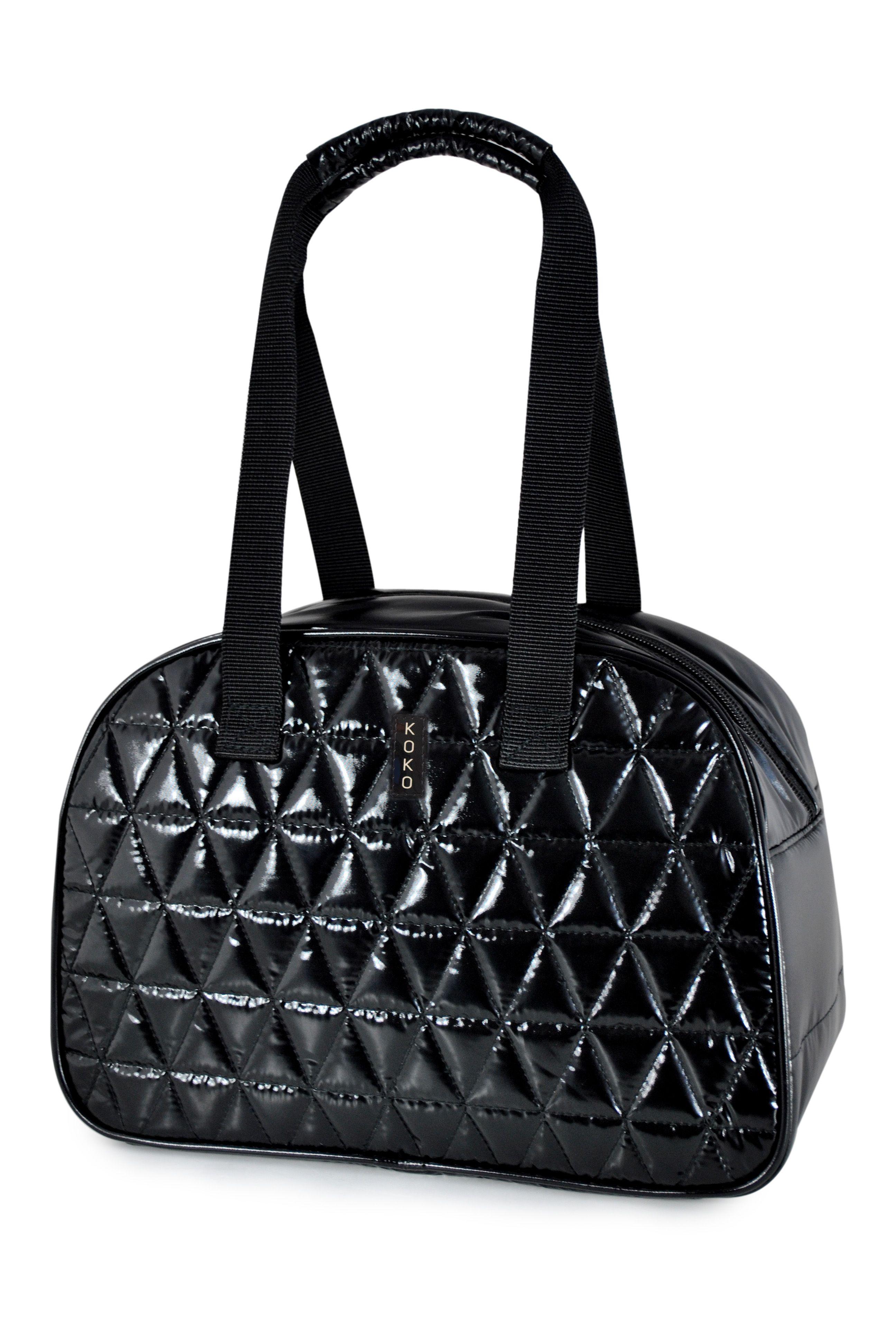 Dima Black Insulated Lunch Bag By Koko Koko Fashion