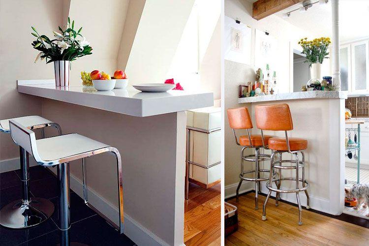 Cocinas con barra americana Cocinas pequeñas Pinterest Room - cocinas con barra