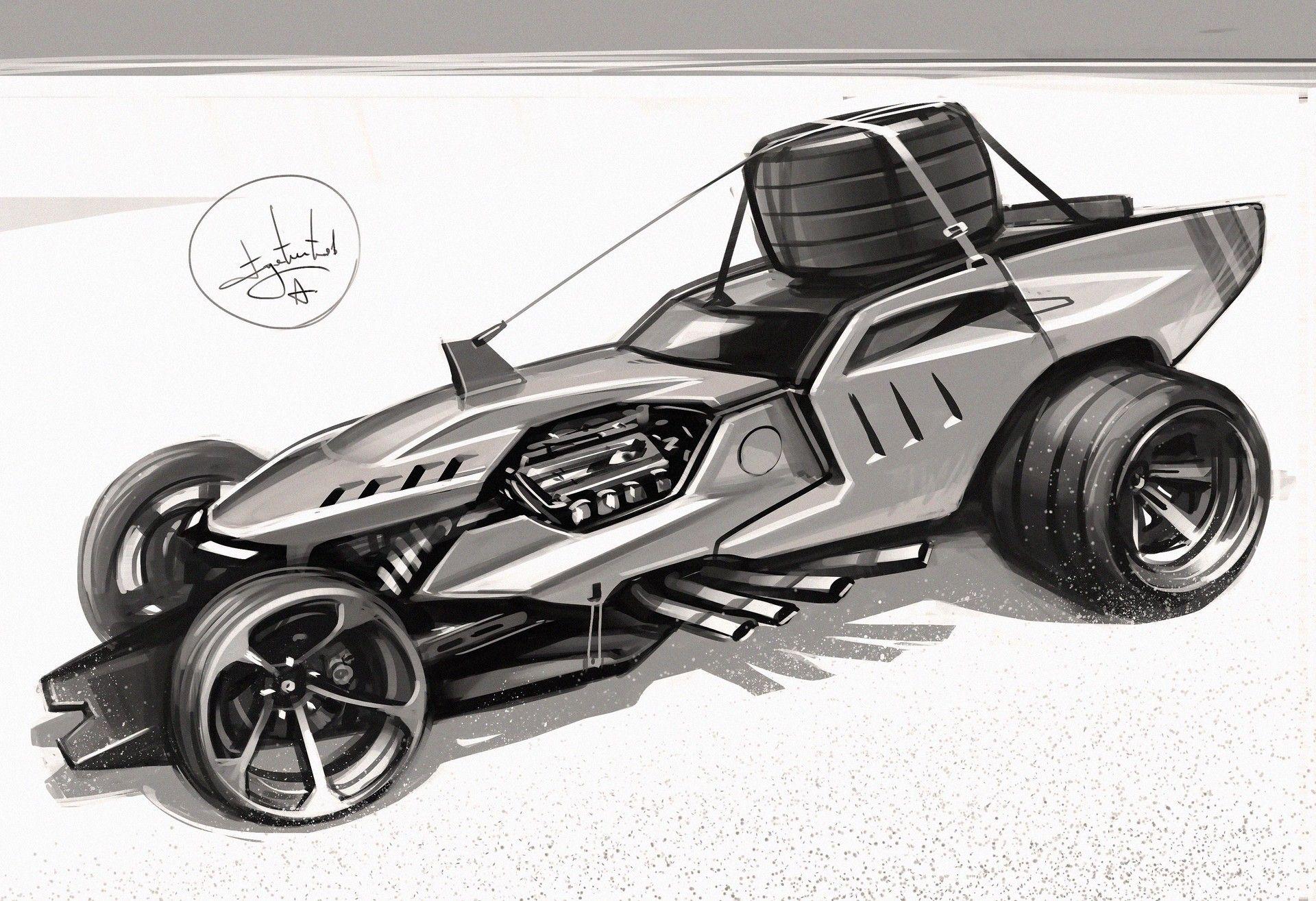 Sketch By Aleksandr Sidelnikov On Artstation In 2020 Sports Car Vehicles Rc Cars