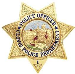 Clovis police badge
