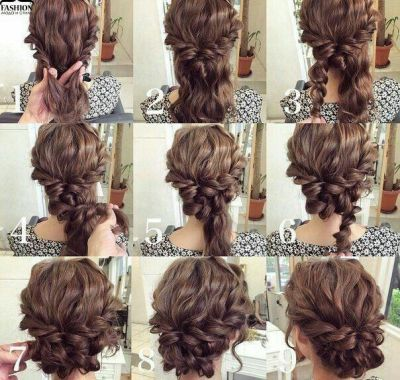 Do It Yourself Wedding Hairstyles For Curly Hair