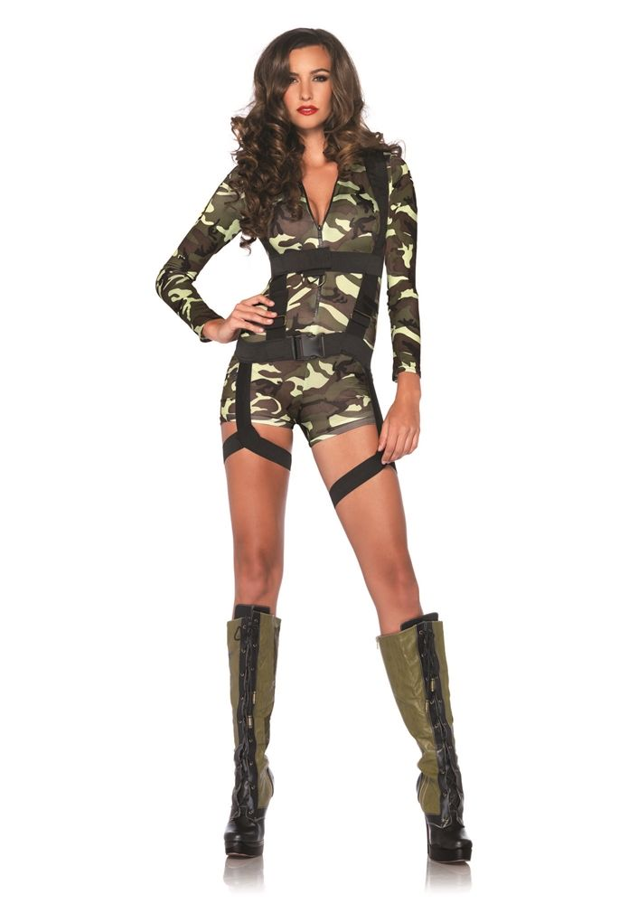 ce2ba3e578f Goin' Commando Camo Adult Womens Costume Price: $44.99 | Sexy ...