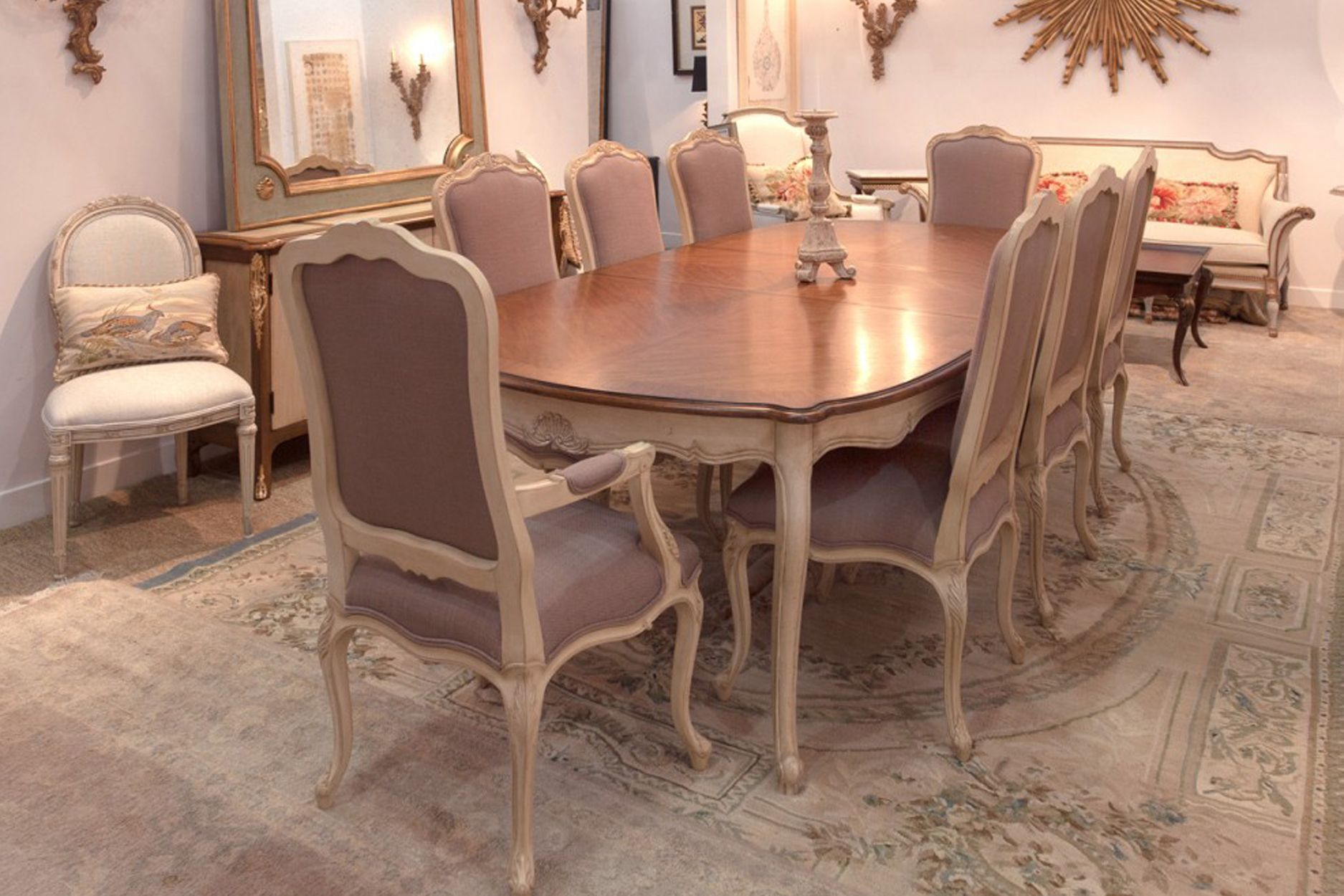 Room Classic French Style Dining Table