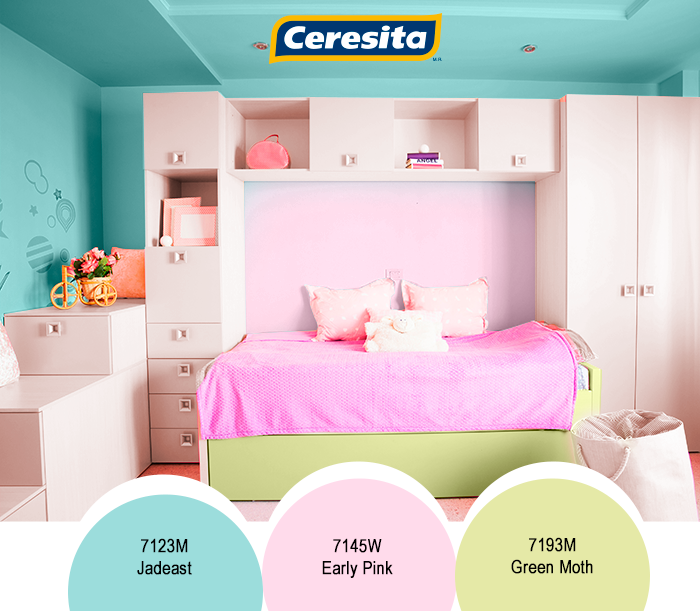 Ceresitacl Pinturasceresita Color Ninas Nina Habitacion Infantil J Colores Para Dormitorio Decoracion De La Habitacion Decoracion De Habitacion Juvenil