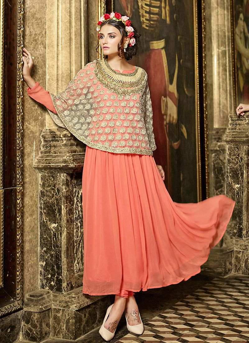 Pin by Brithika Fashion on Indian Gown | Pinterest | Indian gowns ...