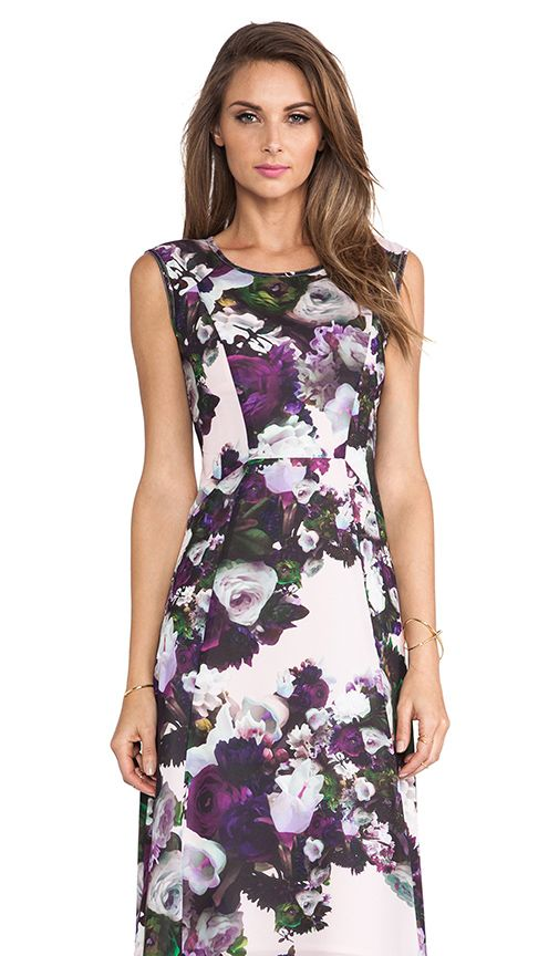 Nanette Lepore Scarlet Nights Dress. This floral print dress is on my wishlist!