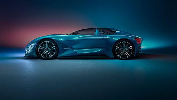 Ds X Concept Car On Behance Concept Cars Car Concept