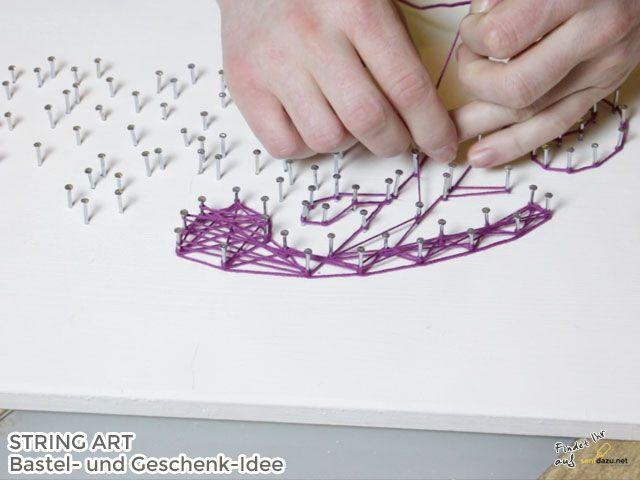 nach der kontur kann man ausf llen string art vorlagen. Black Bedroom Furniture Sets. Home Design Ideas