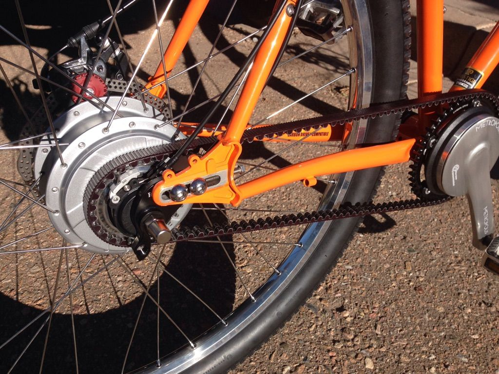 nuvinci 360 rear hub, gates belt drive   Soma Wovlerine Bike