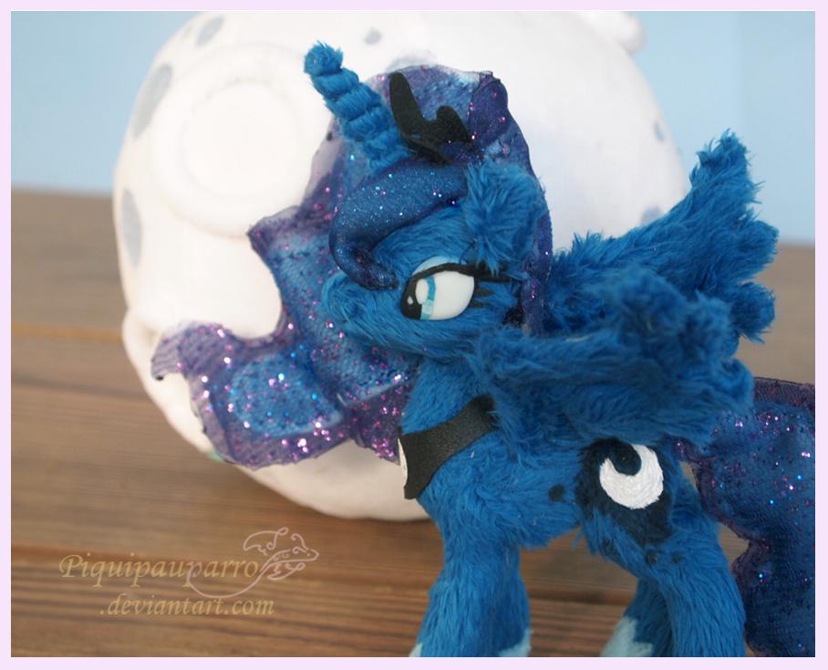 Princess Luna - 5inch handmade plush by Piquipauparro on DeviantArt