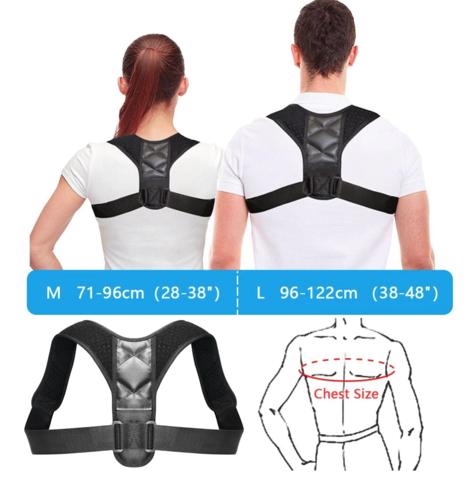 posture corrector  back shoulder support  good posture