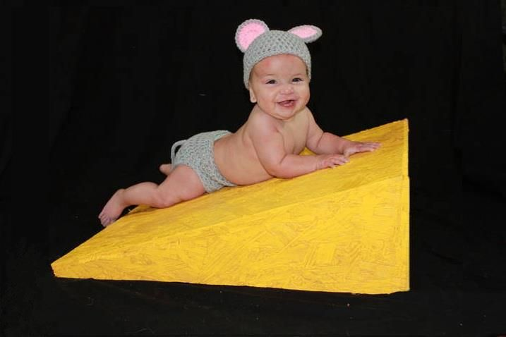 baby mouse hat and diaper cover