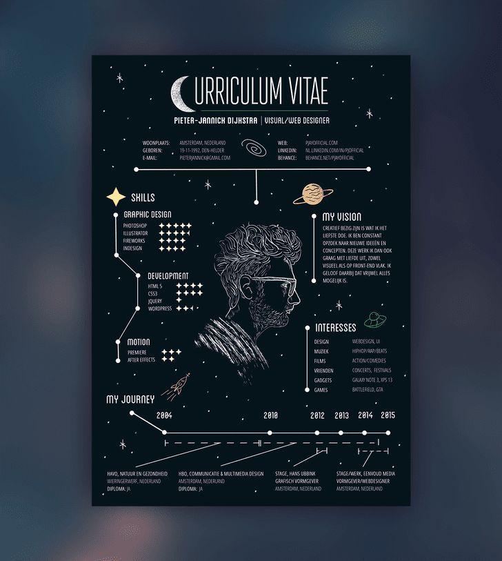 Personal Resume Lebenslauf Lebenslauf Design Infografik Lebenslauf