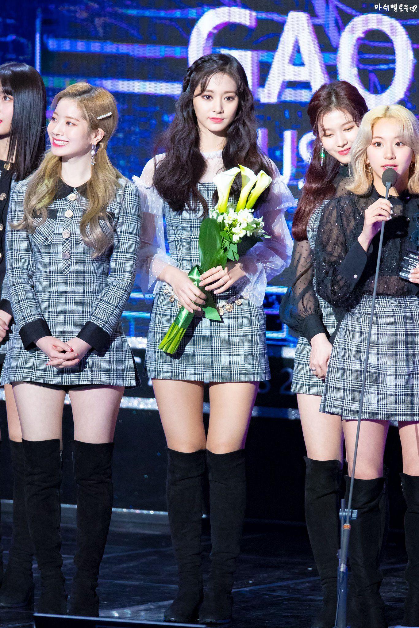 190123 8th GAON CHART MUSIC AWARDS 2018 dahyun tzuyu chaeyoung