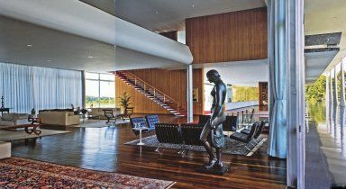 Palacio da Alvorada Oscar Niemeyer (Brazilian architect, 1907-2012) Brasilia, Centro-Oeste, Brazil 1956-1960 (creation)