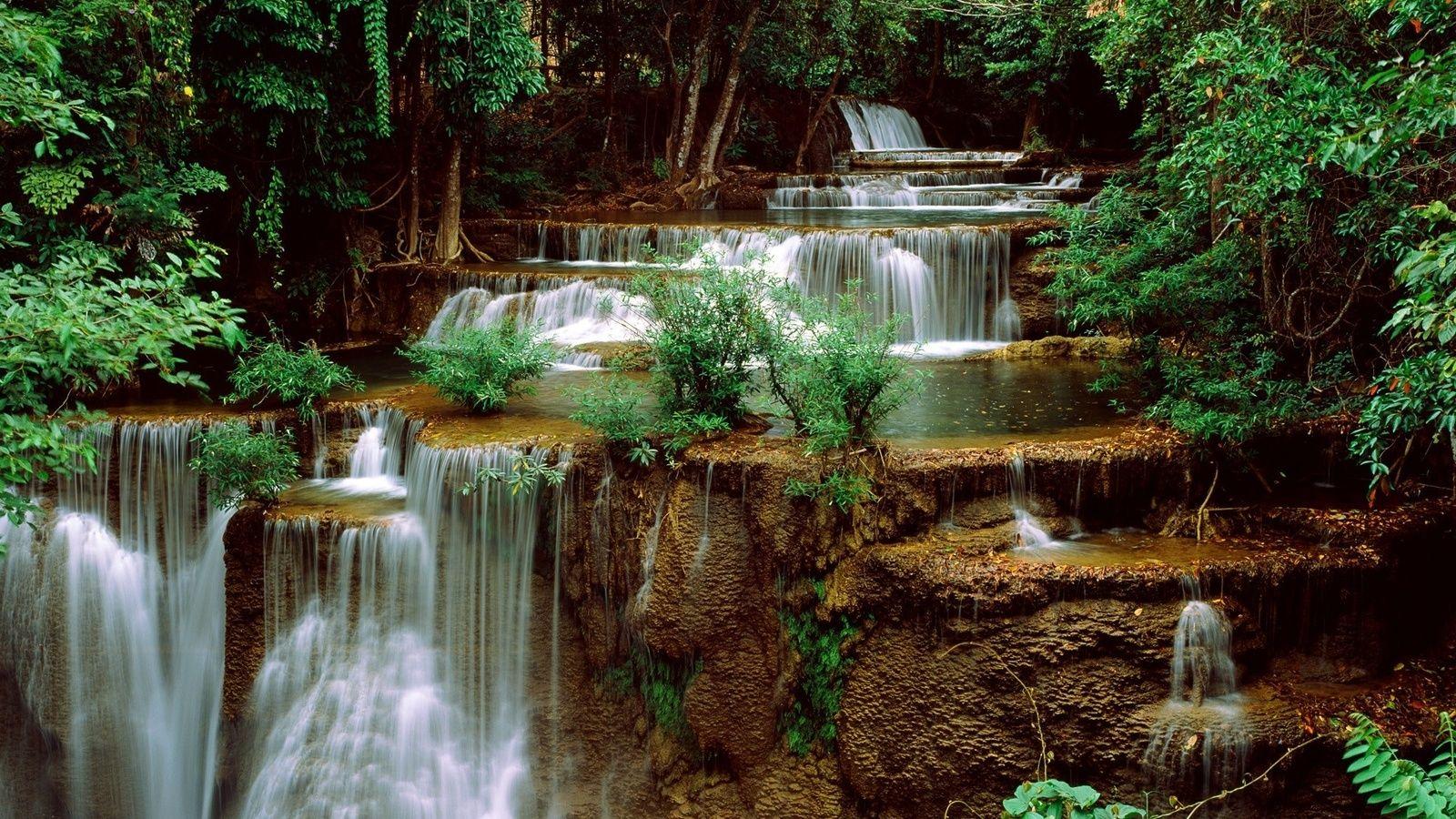 Обои красиво, водопад, Вода. Природа foto 14
