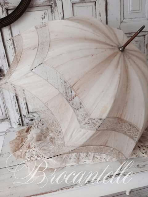 Faded French Parasol