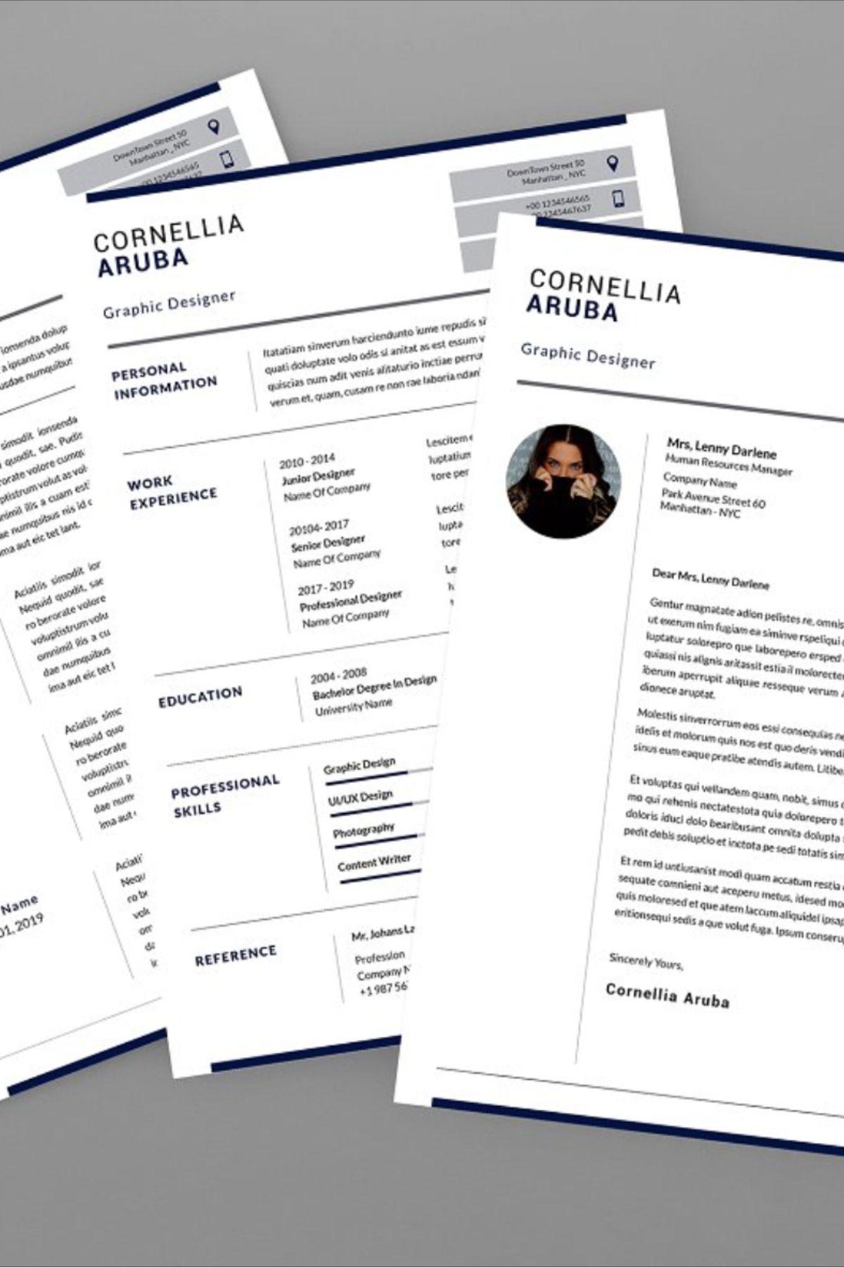 Aruba Graphic Resume Designer Graphic resume, Resume, Design
