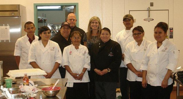 Photo Of The Week Sodexo Recruiter Jennifer T Visits With The Hospitality Students At Navajo Technical College Photos Of The Week Recruitment Student