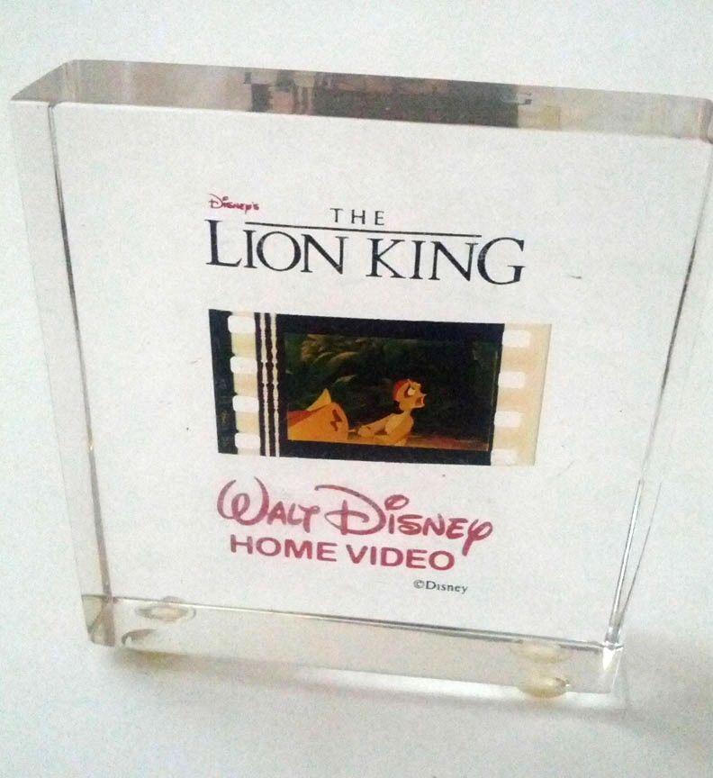 Disney Home Video Promo The Lion King 35mm Film Frame of