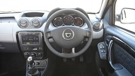 Dacia Duster 2014 SUV Interior Trim - There is no denying that the ...