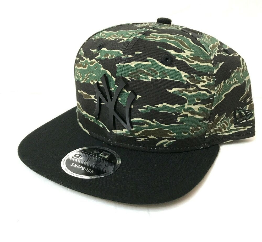35 New York Yankees Camo Snapback Hat Green Black Camo Military Green 9fifty Newera Newyorkyankees Snapback Hats Military Green New York Yankees