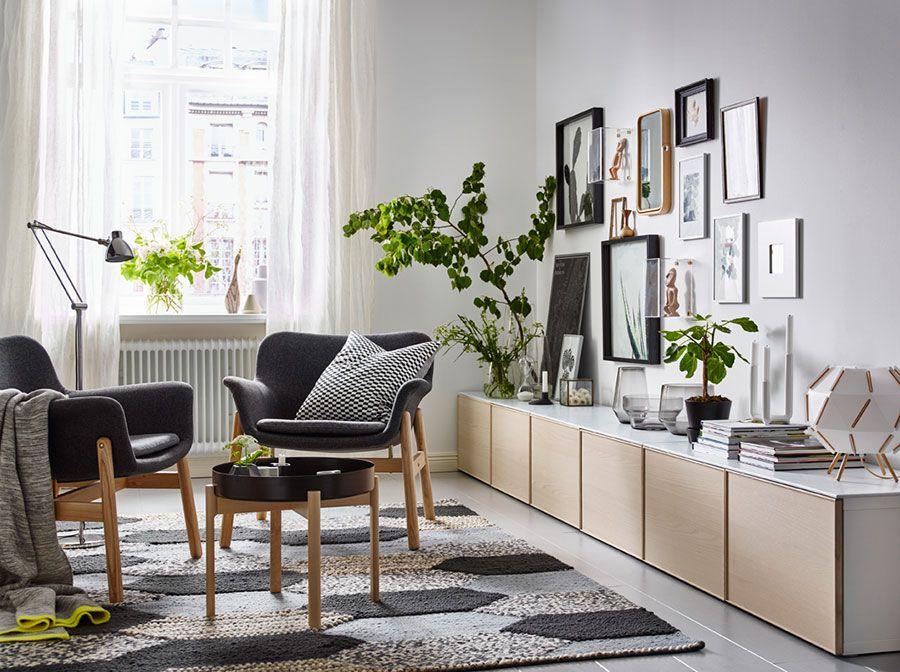 Arredare Il Soggiorno Con Ikea Tante Idee Per Diversi Stili Mondodesign It Salotti Rossi Soggiorno Moderno Soggiorno Ikea