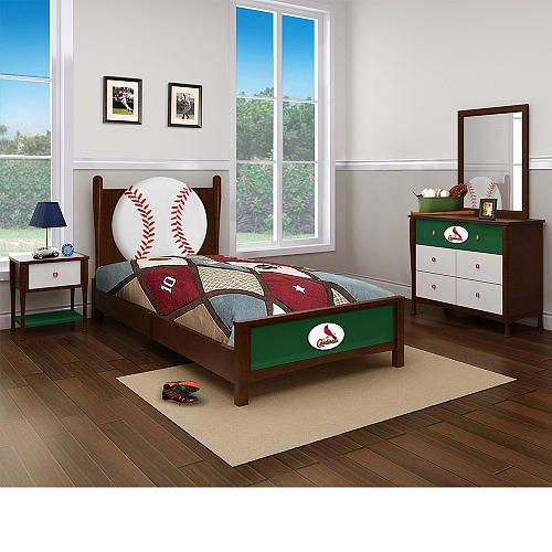 Major League Baseball St Louis Cardinals Bedroom In A Box