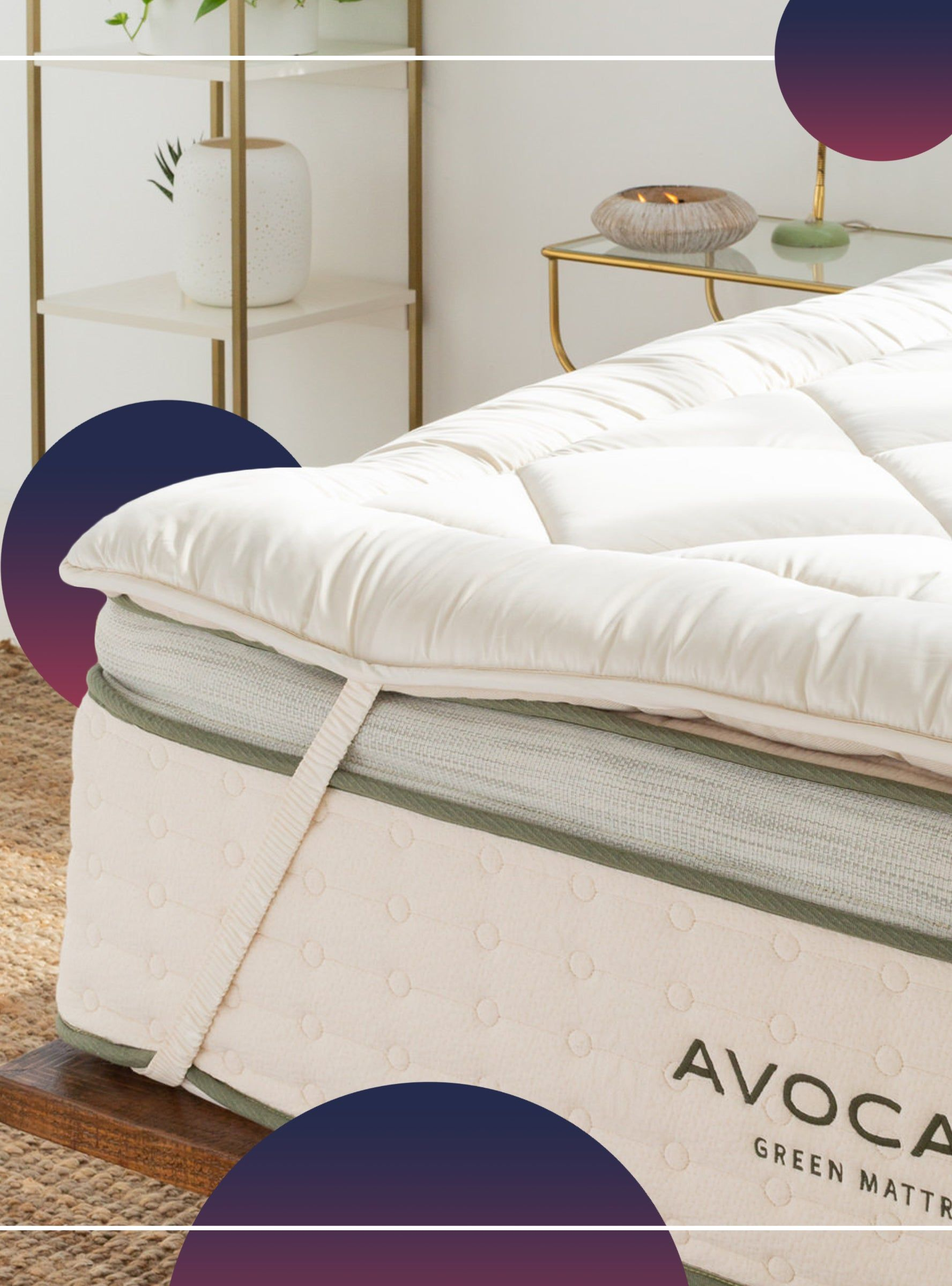 11 Mattress Toppers That Will Make The Earth Your Back Happy In 2021 Mattress Topper Eco Friendly Mattress Organic Mattresses