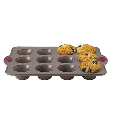 lakeland silicone 12 hole muffin pan from lakeland. Black Bedroom Furniture Sets. Home Design Ideas