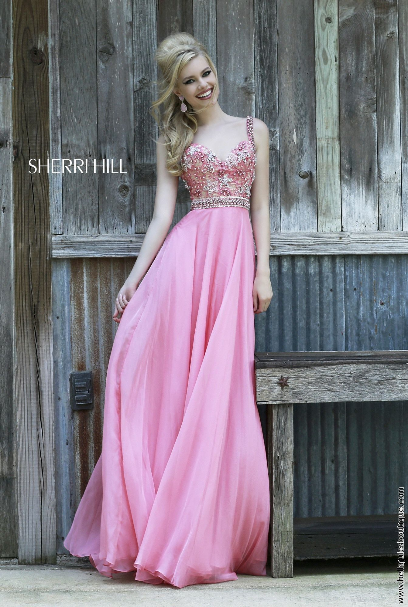 Sherri Hill dress style 8552 – Bella Jules Fashion Boutique | Moda ...