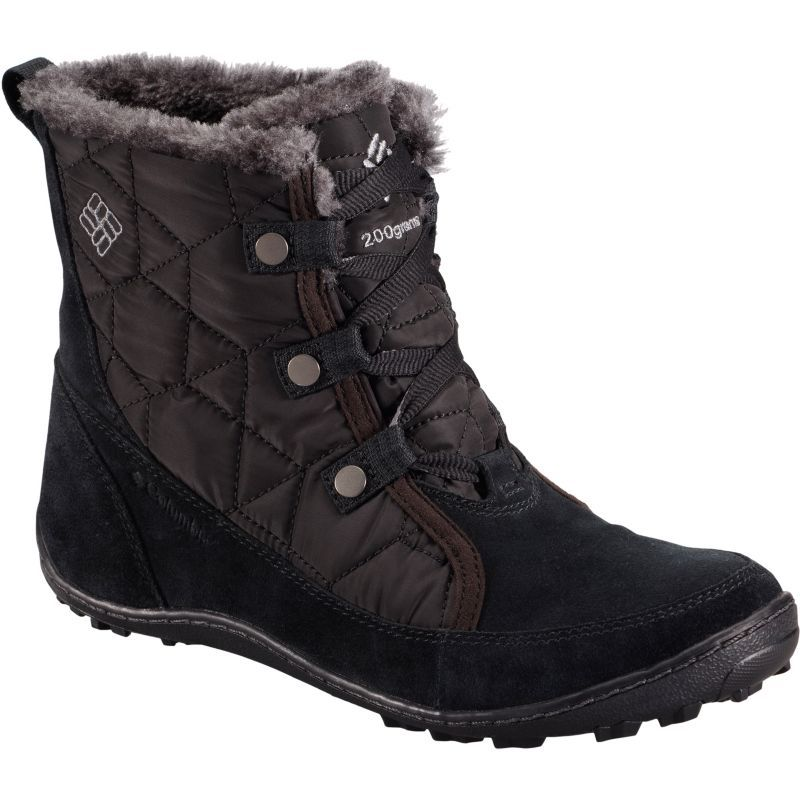 Columbia Women's Minx Shorty Omni-Heat Waterproof 200g Winter Boots, Black