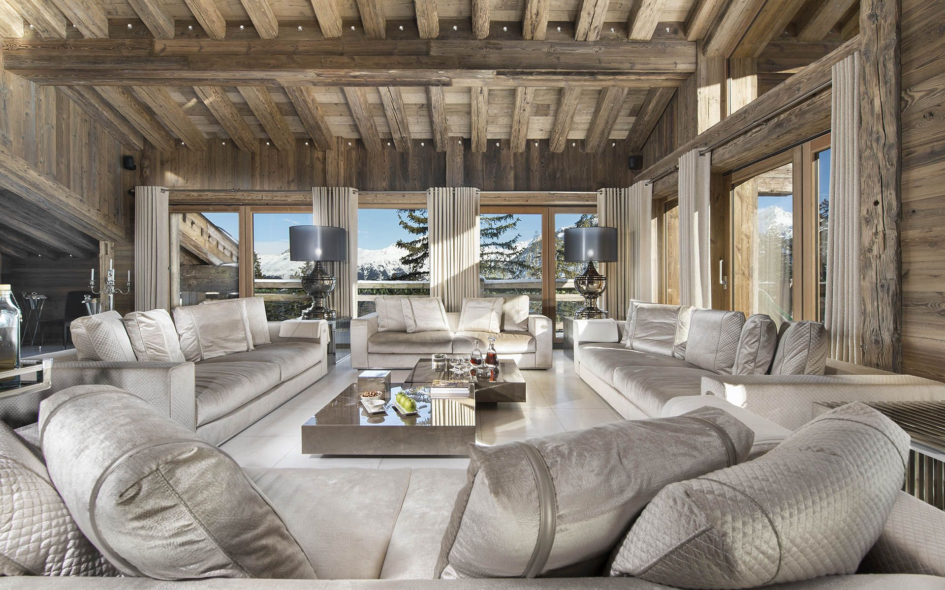 Luxury Ski Chalet, Chalet Owens, Courchevel 1850, France, France (photo#8986)