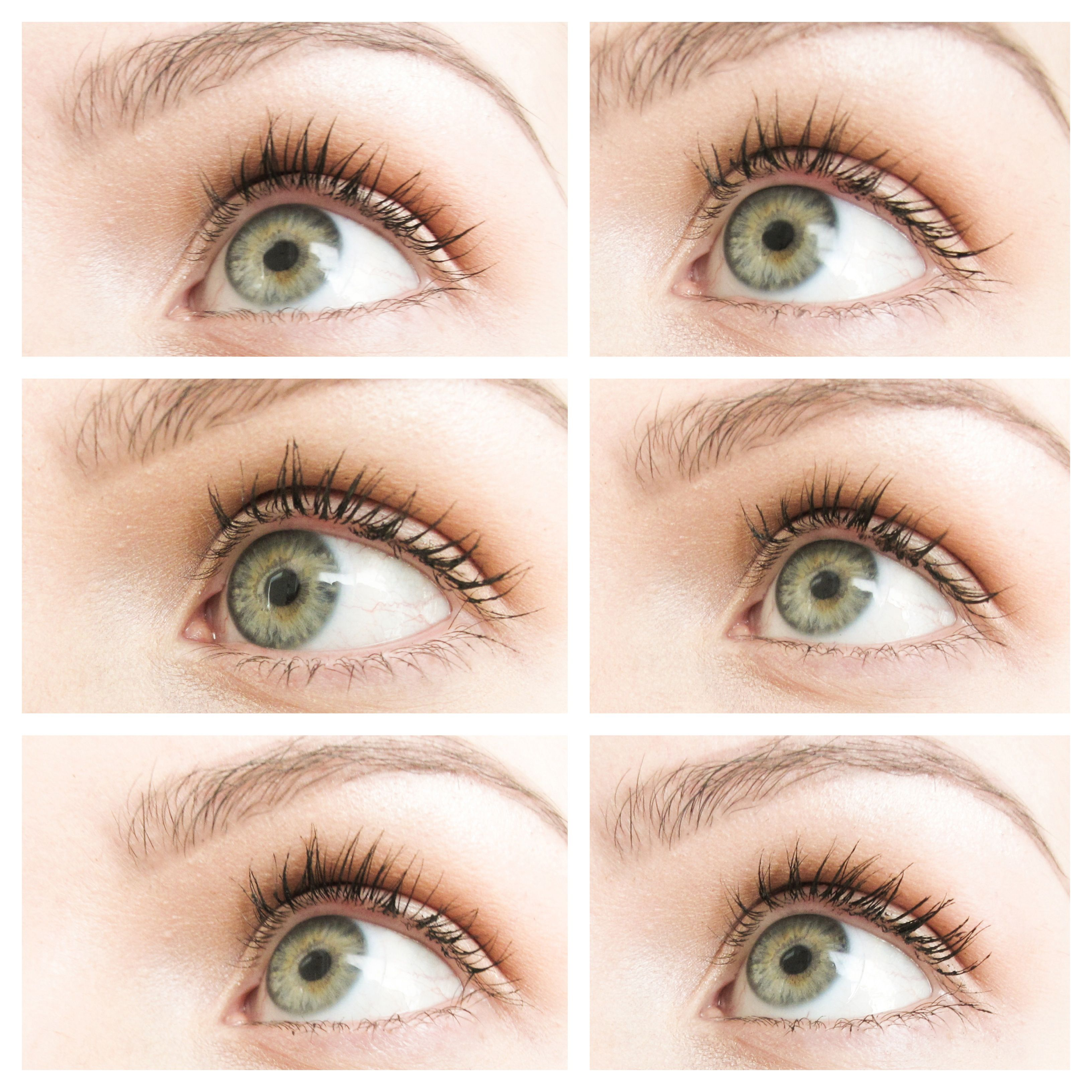 0c0af5ae946 Green Beauty mascara showdown! ROW 1: Alima / Kjaer Weis ROW 2: Ilia / RMS  Volumizing ROW 3: RMS Defining / W3LL People- These are all great cleaner  ...