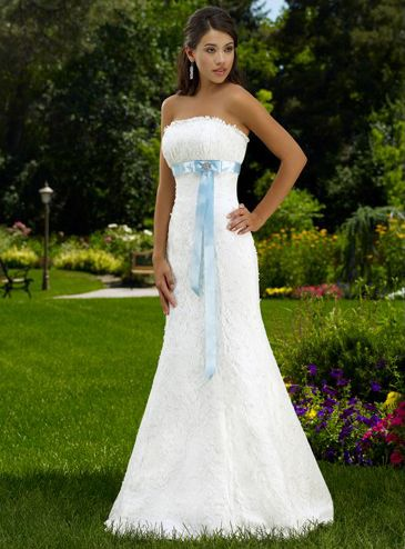 Mermaid Empire Wasit Sash / Ribbon Wedding Dress | China wedding ...
