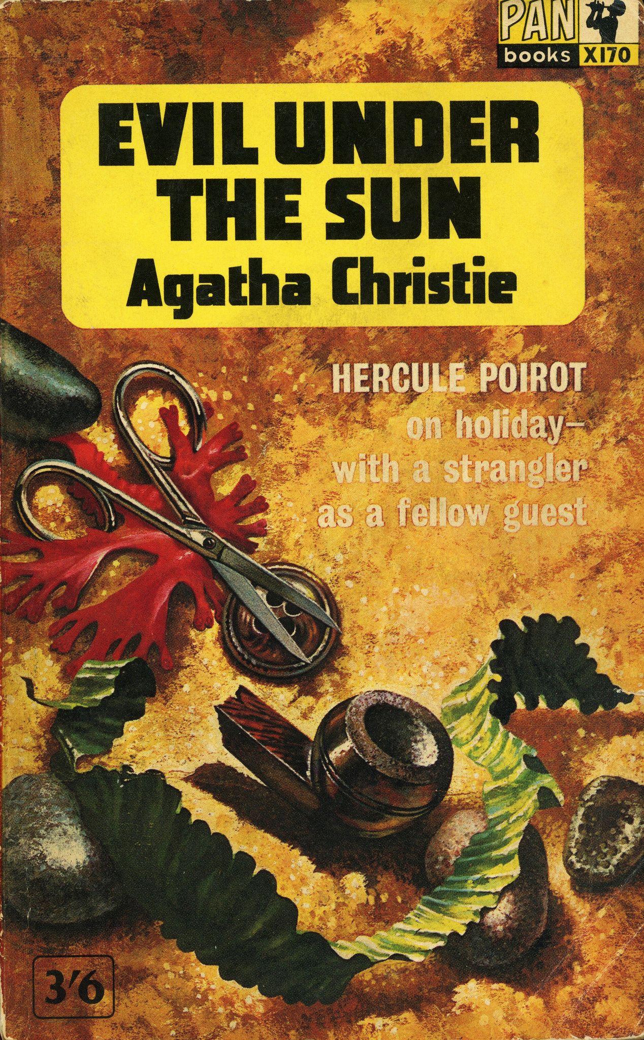 Evil Under The Sun Pan Book Agatha Christie Books Agatha