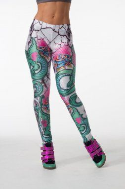 Legging Crash Roses