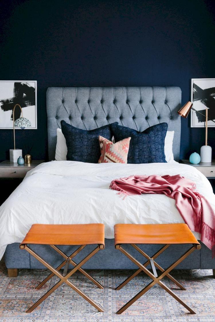 55+ Incredible Eclectic Master Bedroom Design Ideas ...