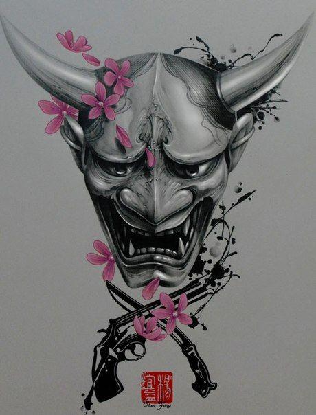 Hanya mask tattoo vorlagen masken malerei - Vorlagen malerei ...