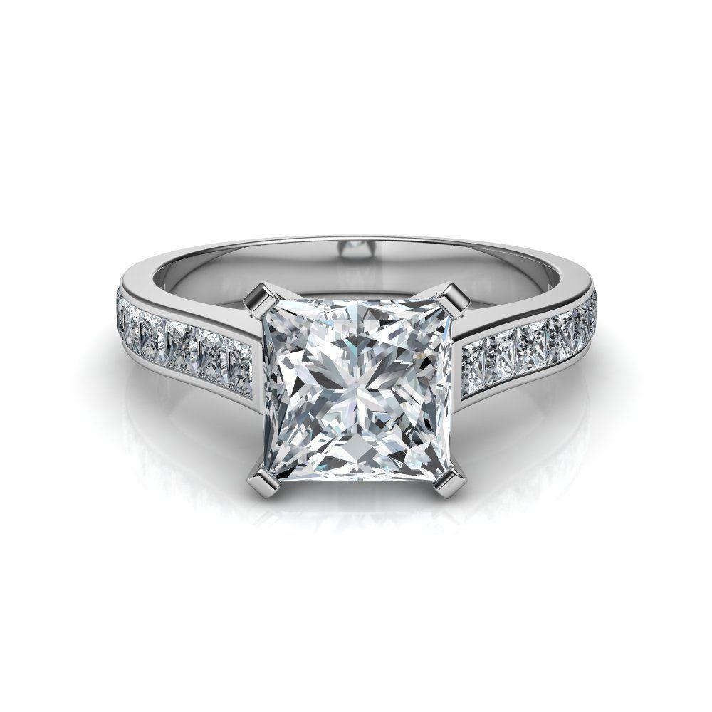 50+ Princess cut diamond engagement rings uk ideas